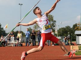 Speerwerper Willem Veldpaus: 'Ik wil naar de Olympische Spelen'